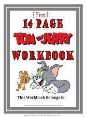 Tom and Jerry Math Workbook