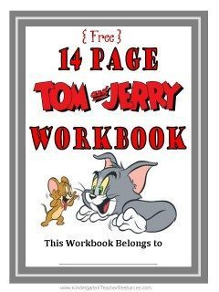 Tom and Jerry Workbook