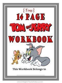 Tom and Jerry Workbook