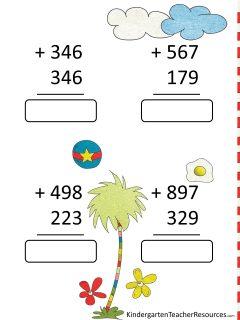 Dr Seuss Math