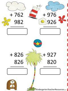 Dr Seuss Worksheets 3rd Grade