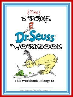 Dr Seuss Math Worksheets
