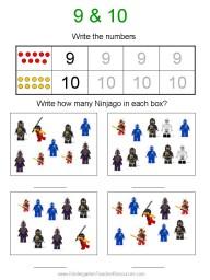 Ninjago printables