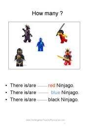 Ninjago kindergarten worksheets