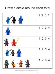 Ninjago worksheet