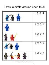 Ninjago worksheet