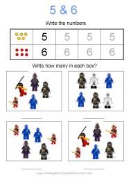 Ninjago worksheets