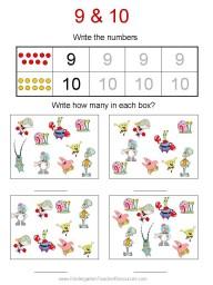 Spongebob kindergarten worksheet