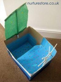 cardboard box craft