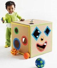 cardboard craft activities