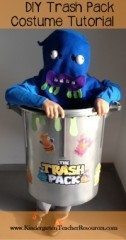 Trash Pack Costume