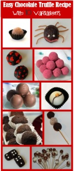 Chocolate truffles for kids