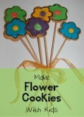 Flower Cookies with Royal Icing