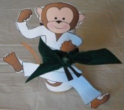 diy monkey craft