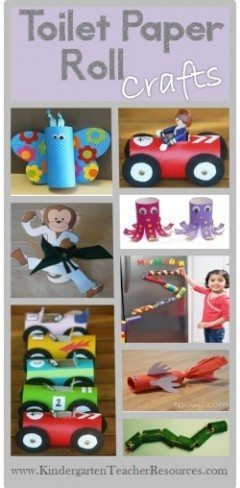 Toilet Paper Craft Ideas
