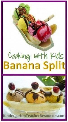 How to Make a Banana Split with Kids